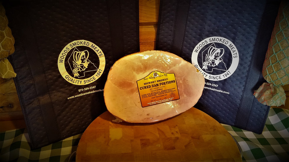 1/2 Hickory Smoked Bone-In Ham