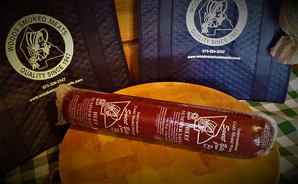 3 lb. Beef Summer Sausage for $15.95