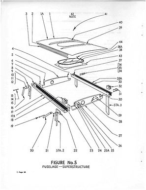 Fuselage Figure No 5 Superstructure