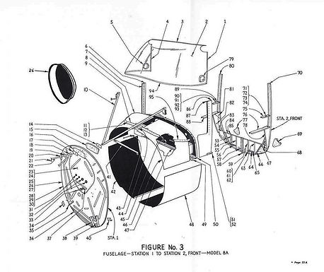 Fuselage Figure No 3 Station 1-2