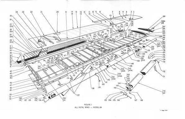 All Metal Wing Model 8A Figure No 1