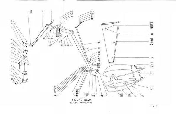 Silflex Landing Gear No 2A