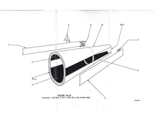 Fuselage Figure No 8 Station 4-7 Cone