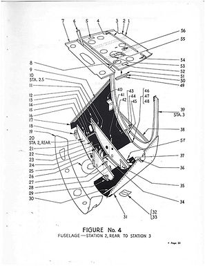 Fuselage Figure No 4 Station 2-3
