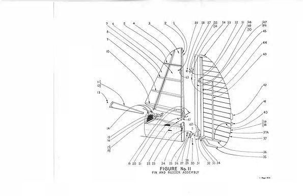 Fin & Rudder Figure No 11