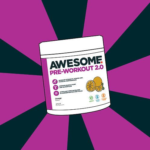 Pre Workout 2.0(Caffeine Free)
