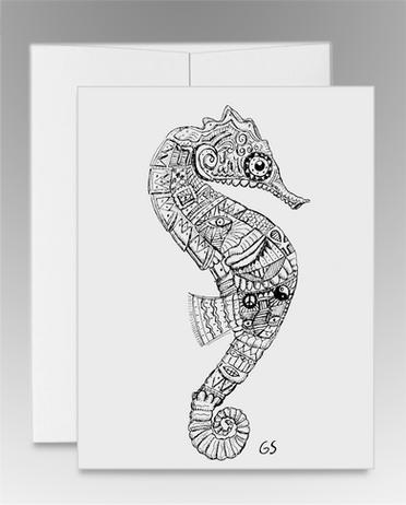 """Seahorse"" Inpiration (item #0010)"