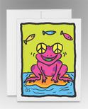 """Peace Frog"" (item #0013)"