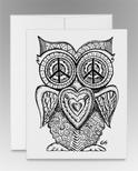 """""""Peace Owl"""" (item #0011)"""