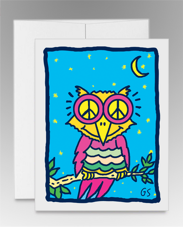 """Peace Owl II"" (item #0012)"