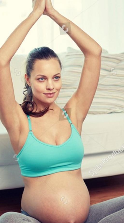 Prenatal 45 minute Online Personal Yoga