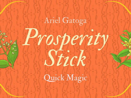 Make A Prosperity Stick