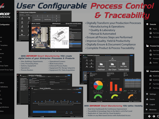 Enforcer® Smart Manufacturing - Powerful Industry 4.0 Manufacturing Software