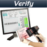 Barcode verification grades the quality of a mark against application standards such as GS1, HIBC, and ISO/IEC 15415/15416.