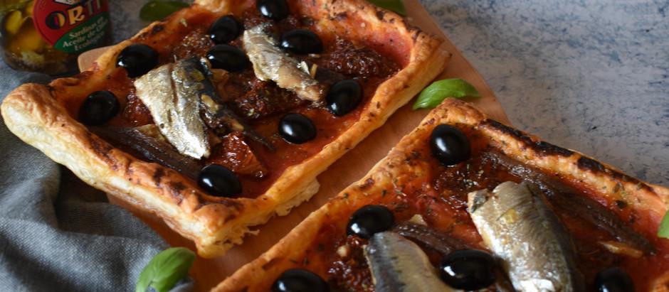 Tartaleta de sardinas