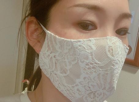 レースのマスク