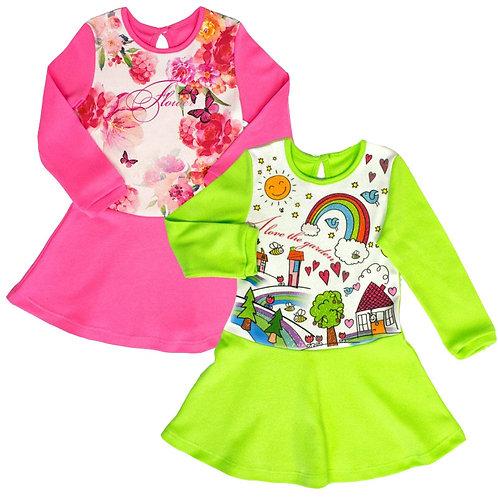 10-196РТ Платье для девочек