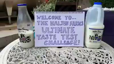 Milk tastes better in glass....heres the proof!