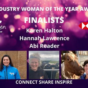 Halton Farms very own Karen Halton Announced as Finalist in dairy industry awards