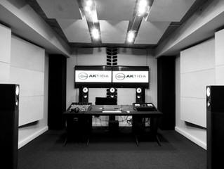 Garso / post produkcijos studijos įrengimas