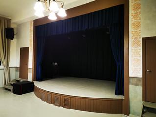 Akustinės  scenos užuolaidos
