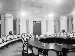 Akustika Lietuvos Respublikos Švietimo, mokslo ir sporto ministerijos Ovaliojoje salėje