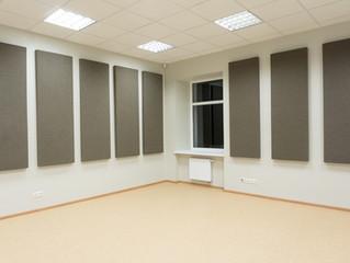 Akustiniai skydai Lazdijų kultūros centrui