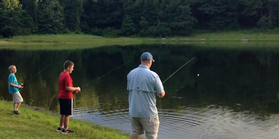 Family Fishing Derby followed by Movie Night