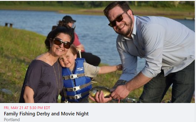 Family Fishing Derby and Movie Night