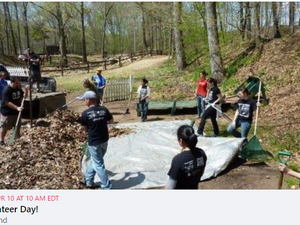 Volunteer Day at Camp Ingersoll