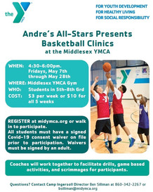 Register Now for Friday Night Basketball Clinics