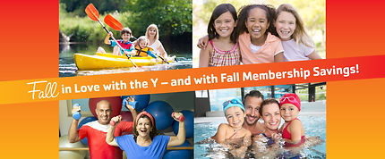 Fall in Love with the Y and with Fall Membership Savings!
