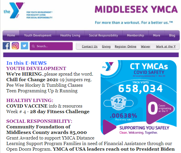 M.Y.F.Y. E-News January 26, 2021