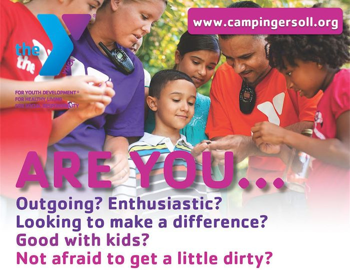 Now Hiring for more YMCA Camp Ingersoll Counselors