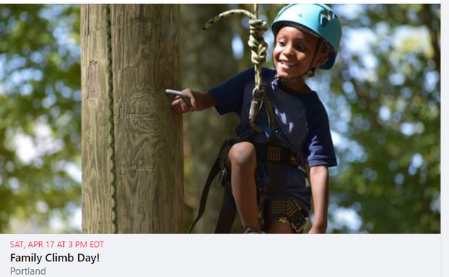 Family Climb Day @ Camp Ingersoll