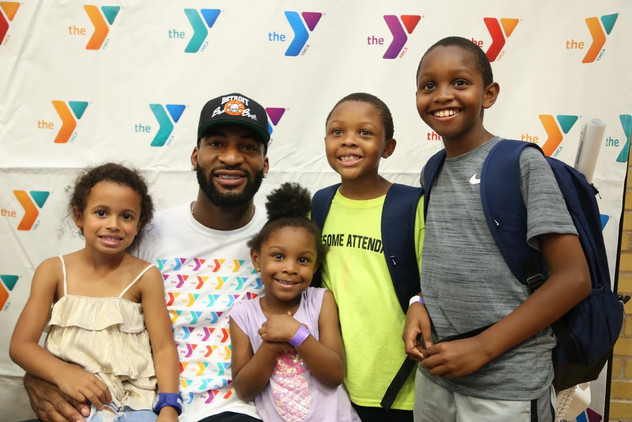 Andre Drummond donates $15,000 to Support Youth Programming at the Y