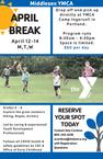 April Break Childcare, 4/12 - 4/14