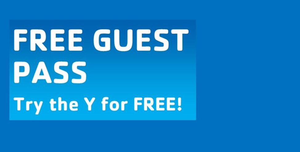 Free Guest Pass Try the Y for Free!