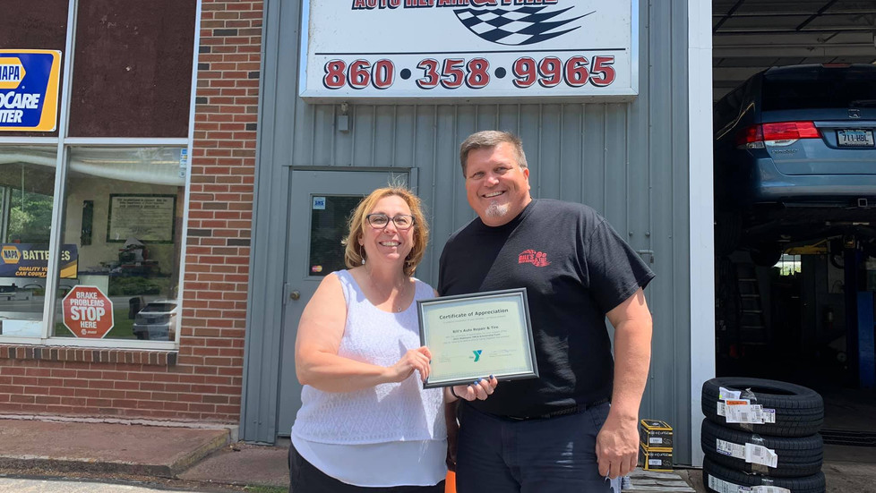 """Thank you Bill's Auto Repair & Tire for Donating to """"Send a Kid to Camp 2021"""""""