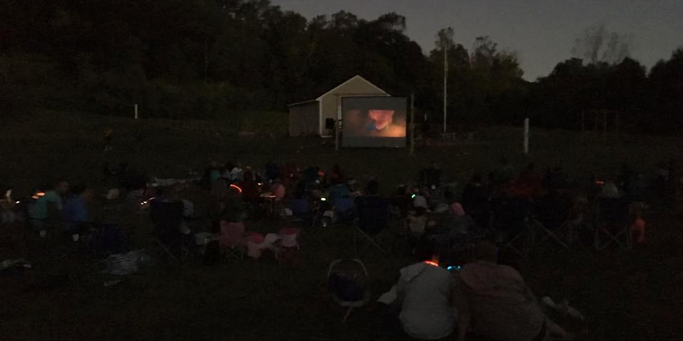 Family Movie Night after Fishing Derby