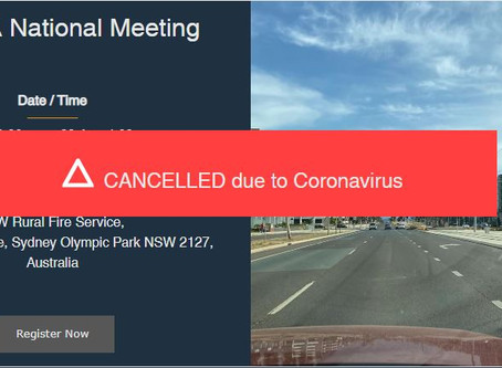 National Meeting Sydney - Cancelled