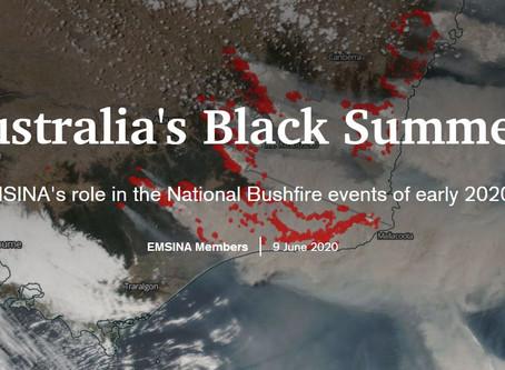EMSINA 2020 Bushfires Storymap