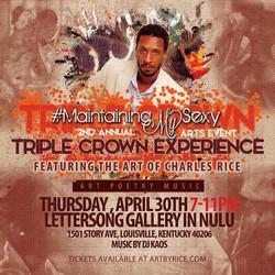 triple crown poster