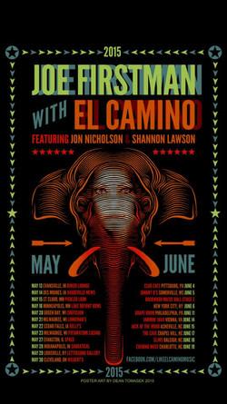 Joel Firstman with El Camino
