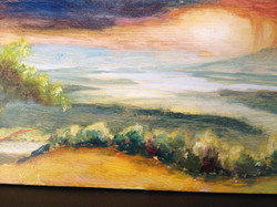 Ken Lucchese, oil painting