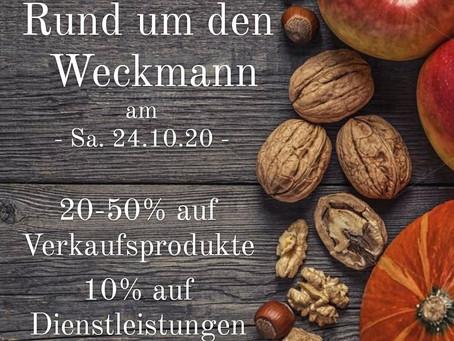 Rund um den Weckmann am Samstag, den 24.10.2020