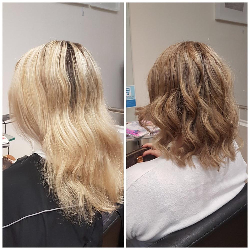 Blondveredelung mit CrystellGloss