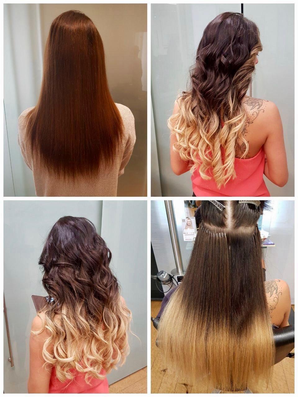 Haarverlängerung im Ombre-Look by Steffi