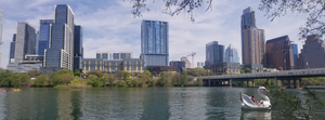 Lady Bird Lake, Downtown Austin, Austin texas