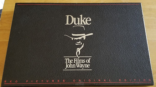 Duke the films of John Wayne VHS collector set.